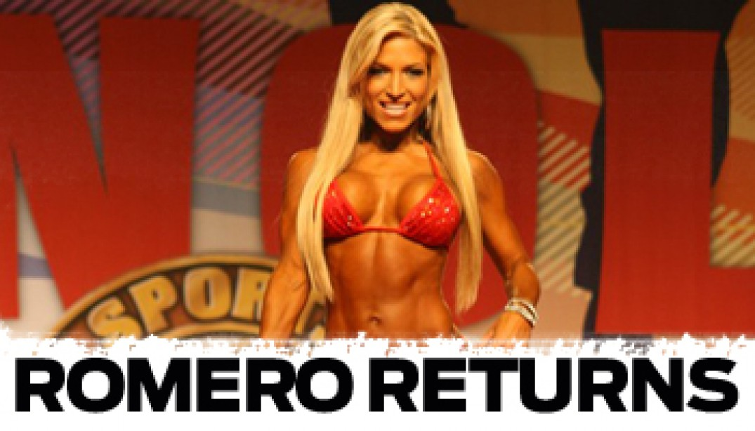 ROMERO RETURNS TO IFBB