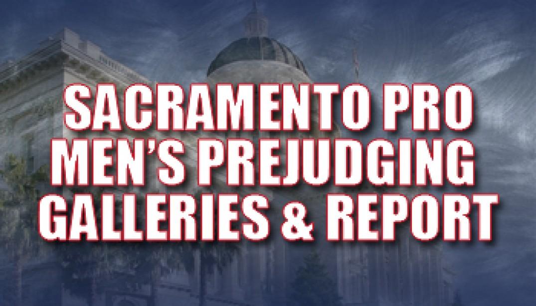 2009 SACRAMENTO PRO MEN'S PREJUDGING