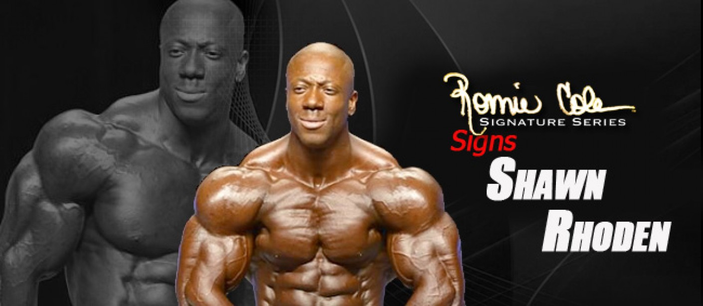 Rhoden Inks Deal With Ronnie Coleman Signature Series