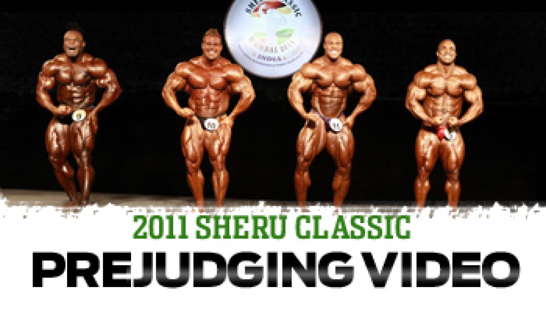 SHERU CLASSIC: MEN'S PREJUDGING VIDEO