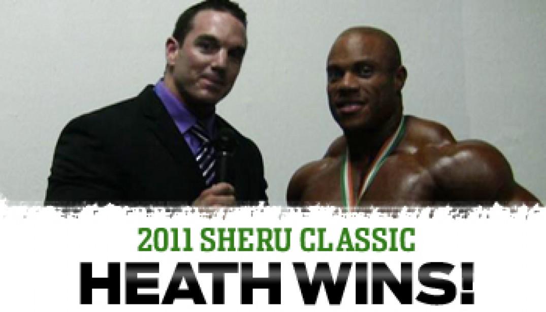 SHERU CLASSIC: HEATH WINS