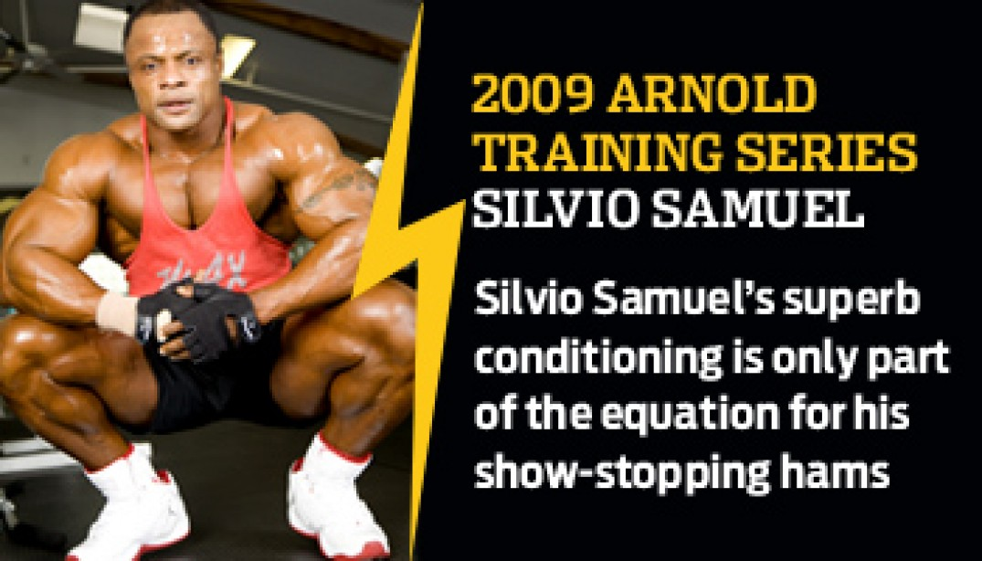 2009 ARNOLD TRAINING SERIES: SILVIO SAMUEL