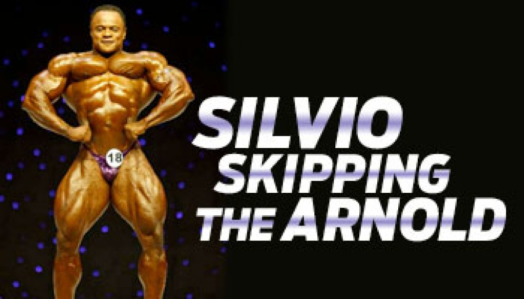 SILVIO SKIPPING THE ARNOLD