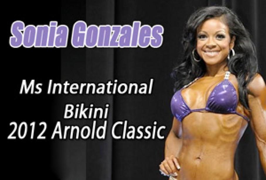 Sonia Gonzales Wins Ms Iternational Bikini - Top 6 Placements