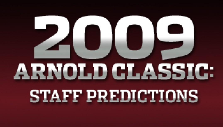 ARNOLD CLASSIC: STAFF PREDICTIONS