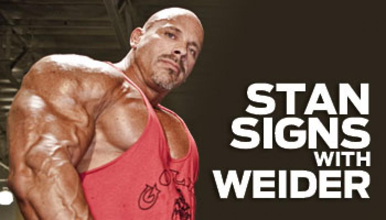 STAN EFFERDING SIGNS WITH WEIDER