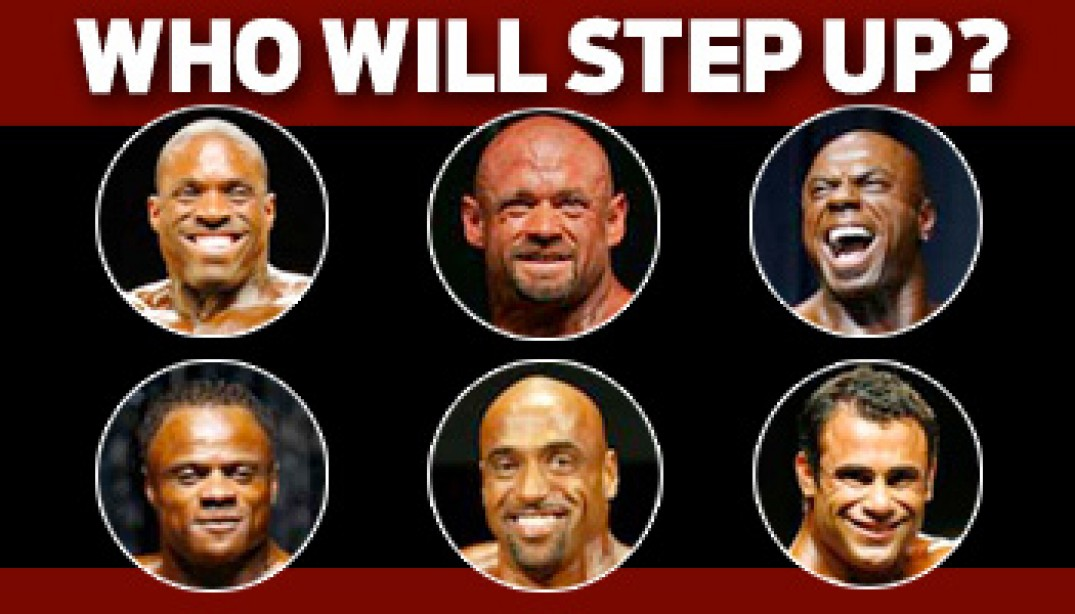 2009 OLYMPIA: WHO WILL STEP UP?