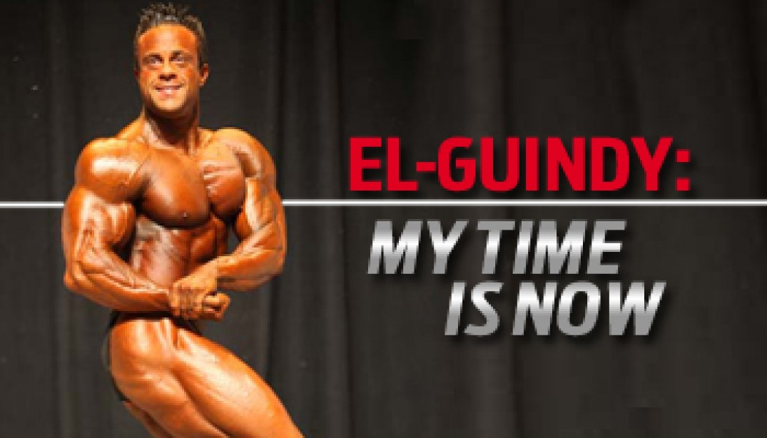 El-GUINDY: MY TIME IS NOW