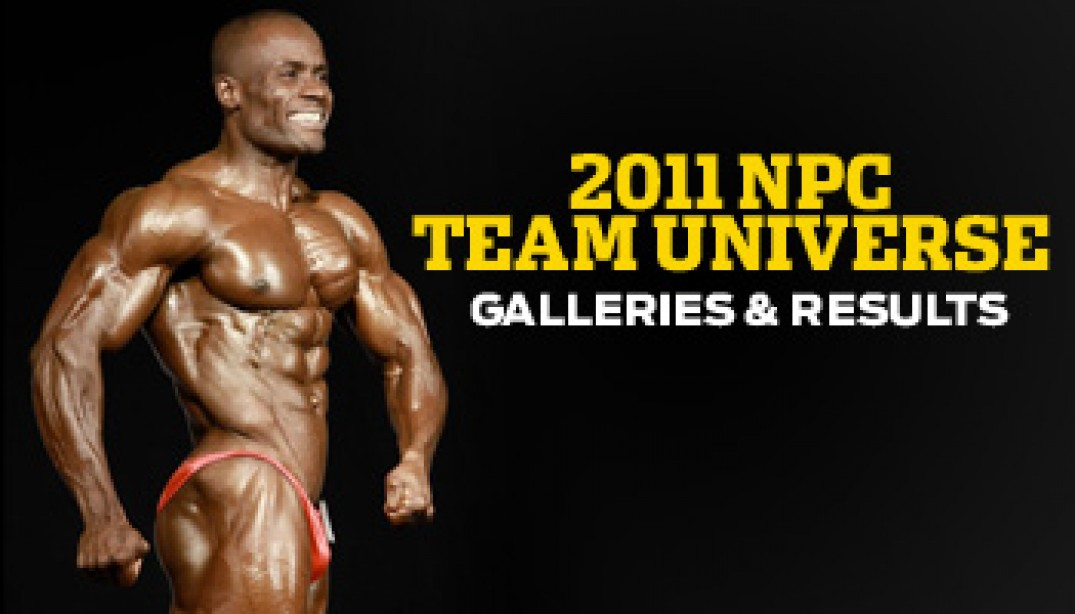2011 NPC Team Universe Galleries & Results