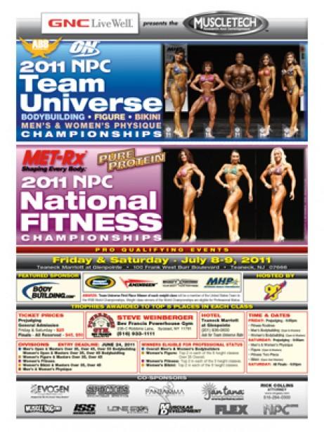 2011 NPC TEAM UNIVERSE THIS WEEKEND!