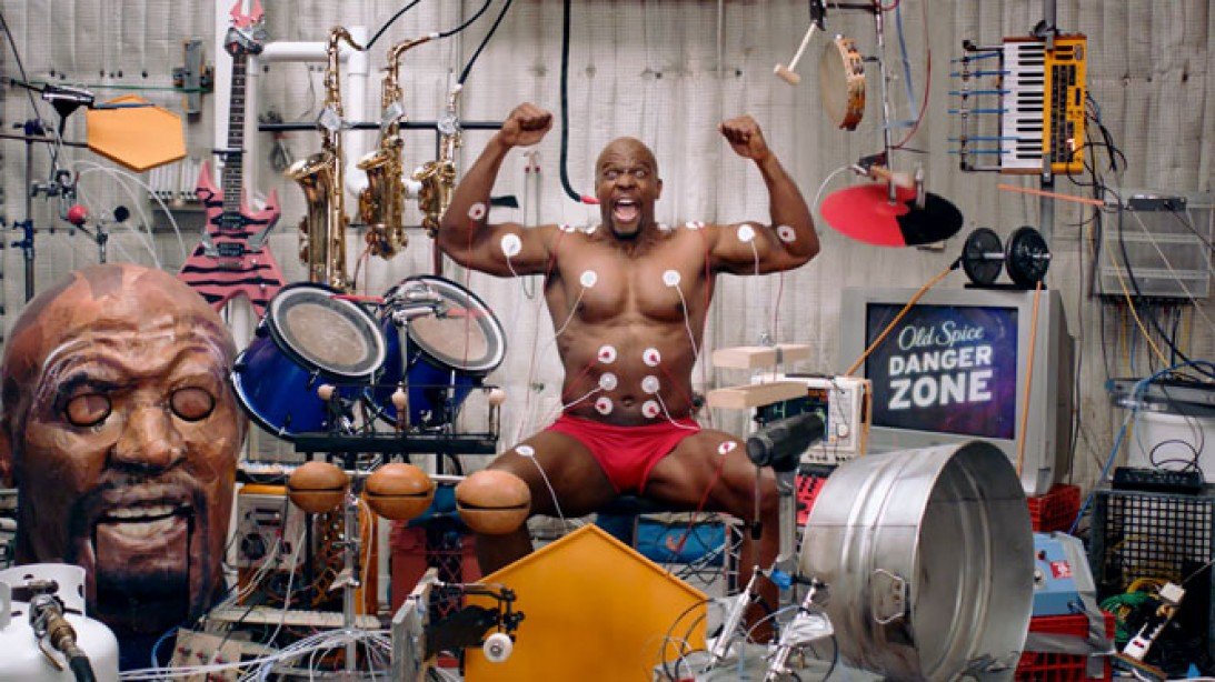 Terry Crews Makes Muscle Music