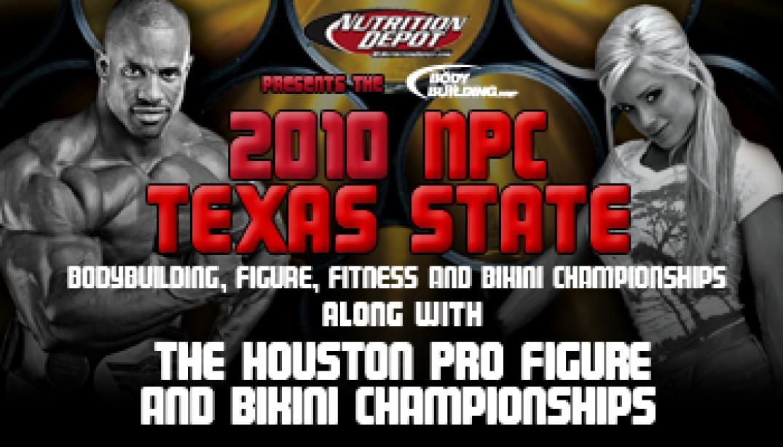 PREVIEW: IFBB HOUSTON PRO FIGURE & BIKINI CHAMPIONSHIPS & NPC TEXAS STATE BODYBUILDING, FIGURE, FITNESS & BIKINI CHAMPIONSHIPS