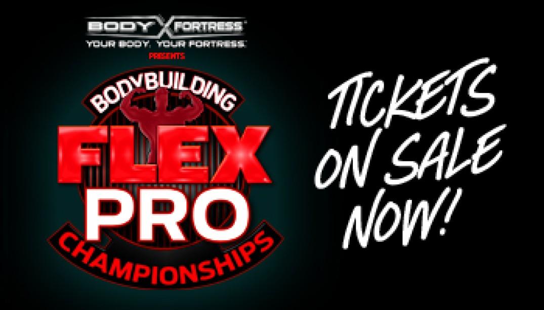 FLEX PRO: TICKETS ON SALE NOW!