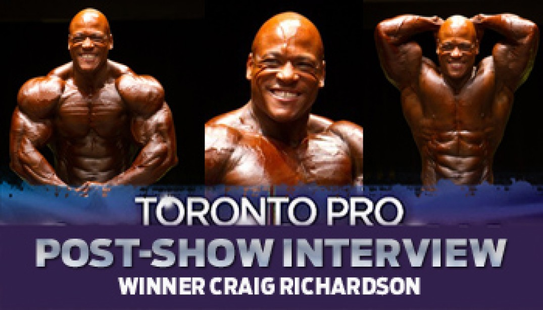 Interview with the Champ in Toronto!