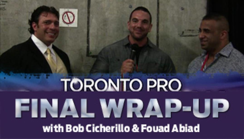 TORONTO PRO FINAL WRAP-UP VIDEO!