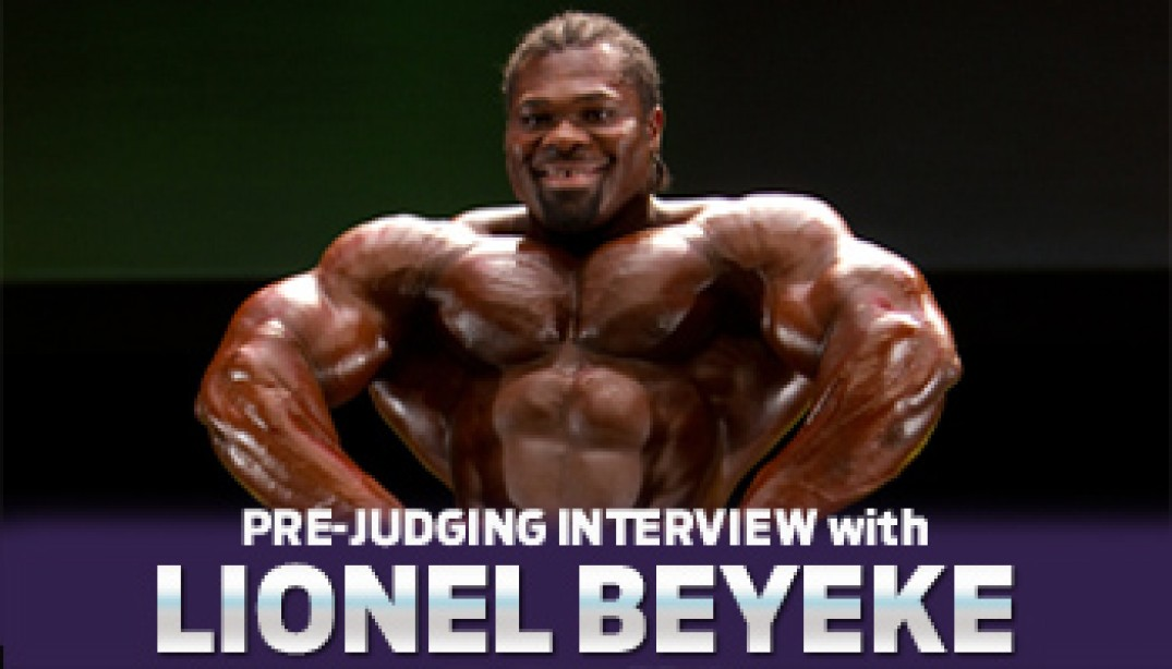 Interview with Lionel Beyeke & Hany Rambod!
