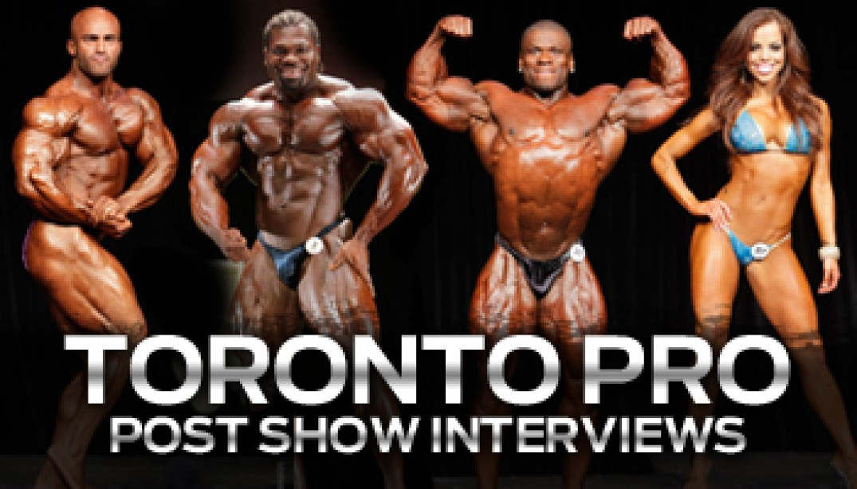 Toronto Pro Post-Show Interview!