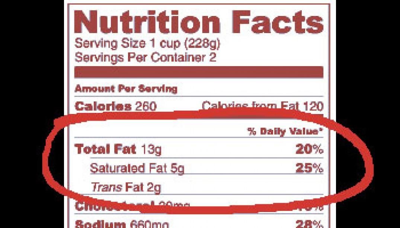 TRANS FAT: HIDDEN HEALTH BUSTER