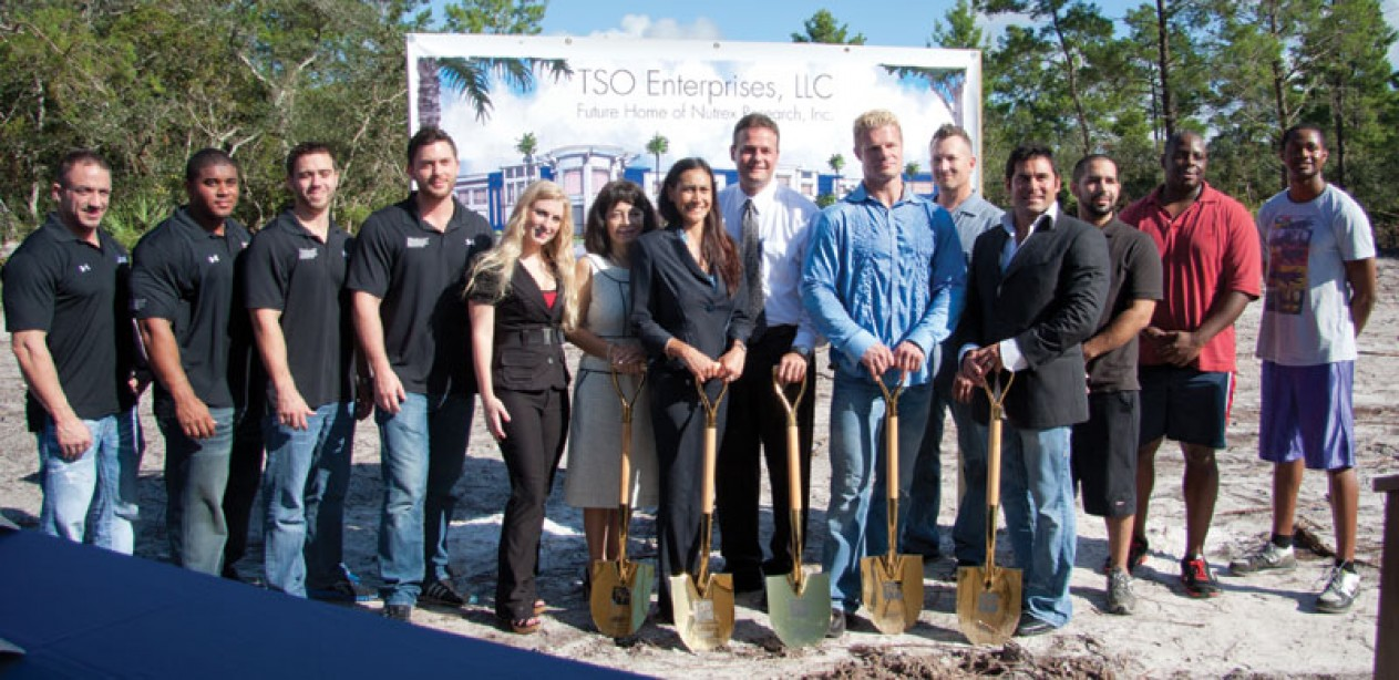 Nutrex Research Breaks Ground for it's New Corporate Headquarters