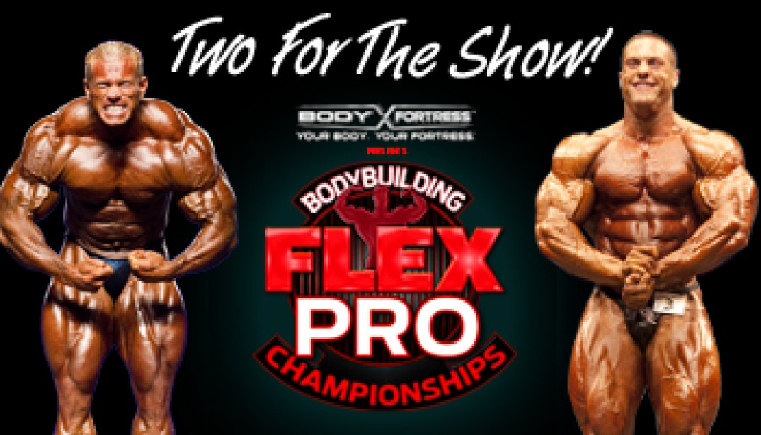 Wolf, Centopani to compete in the FLEX Pro!