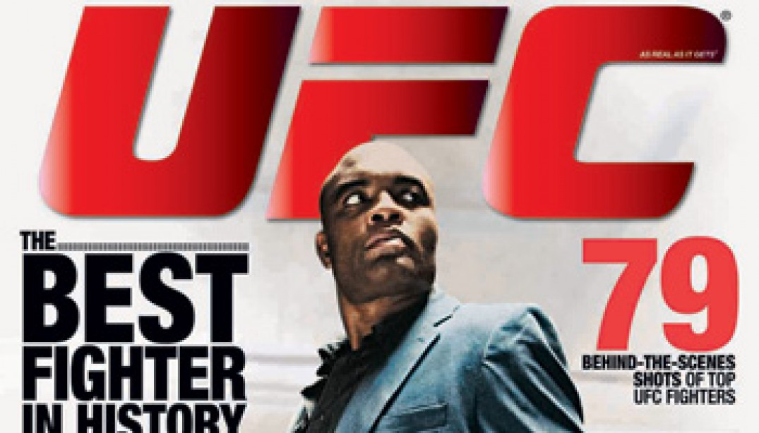 UFC MAGAZINE: THE SPIDER SPEAKS