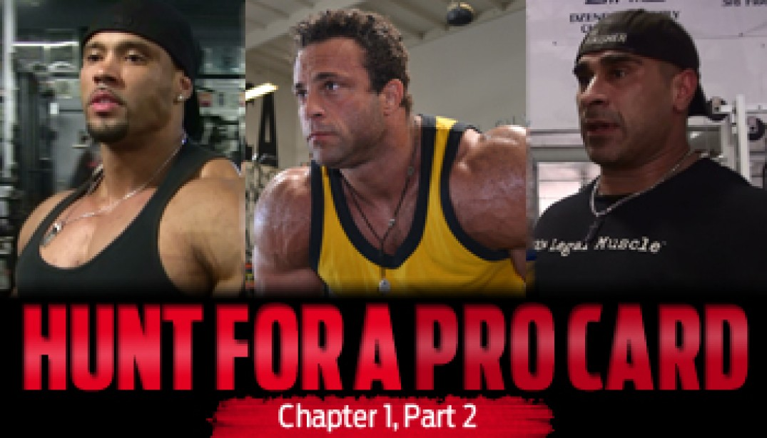 HUNT FOR A PRO CARD: Chapter 1 - Part 2
