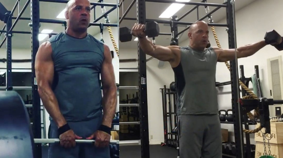 Vin Diesel's 10 Most Muscular Moments on Instagram