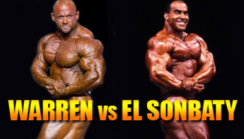 OLYMPIA CLASH OF THE TITANS: WARREN VS EL SONBATY