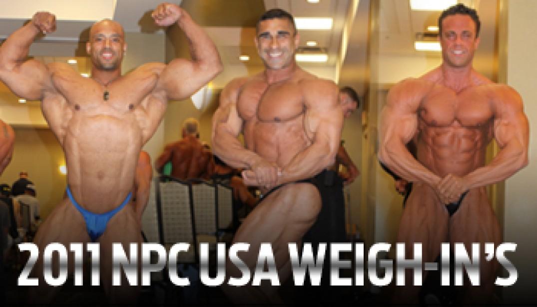 2011 NPC USA WEIGH-IN GALLERY