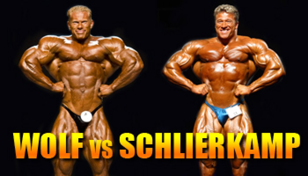 OLYMPIA CLASH OF THE TITANS: WOLF VS SCHLIERKAMP