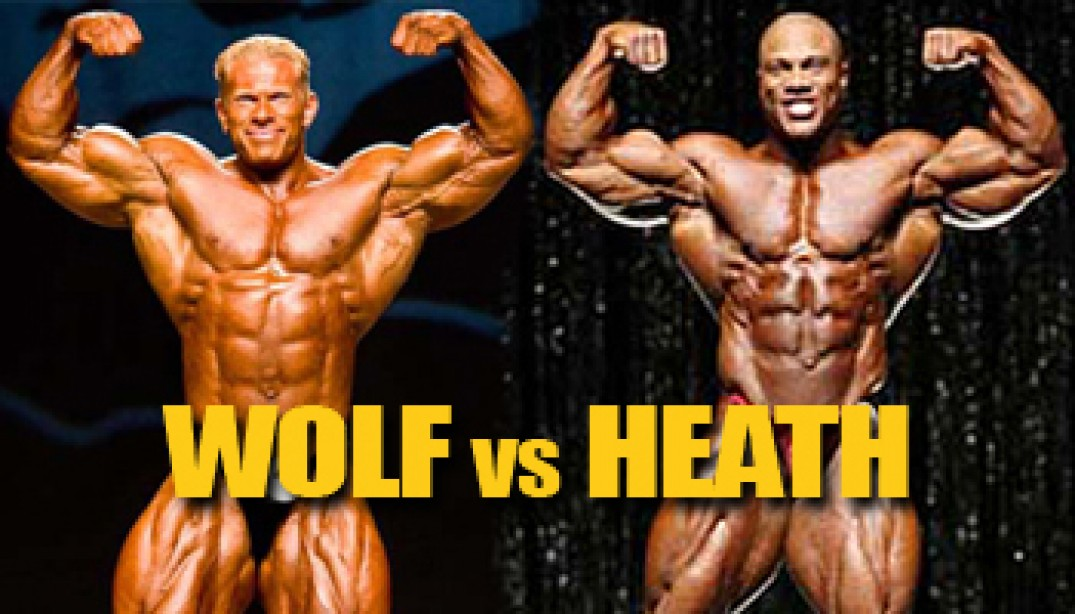 OLYMPIA DREAM MATCHUP: HEATH VS WOLF