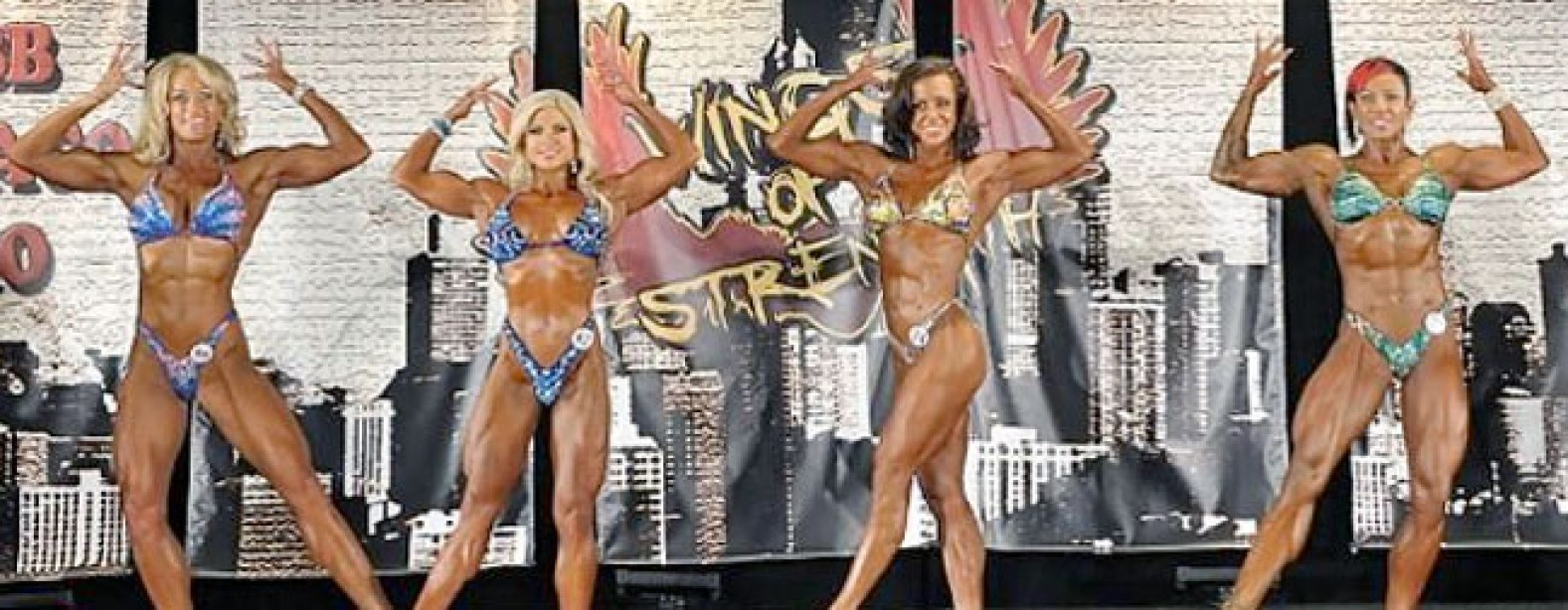 The Chicago Pro Women's Physique Lineup