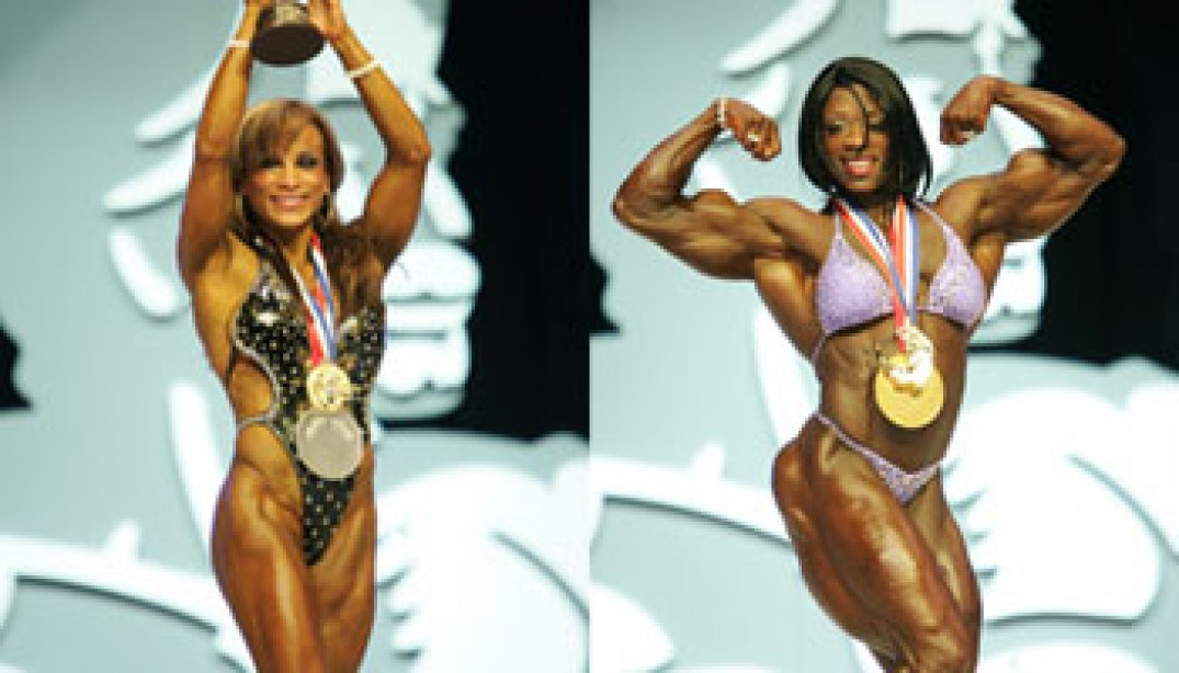 MS AND FITNESS OLYMPIA FINAL RESULTS
