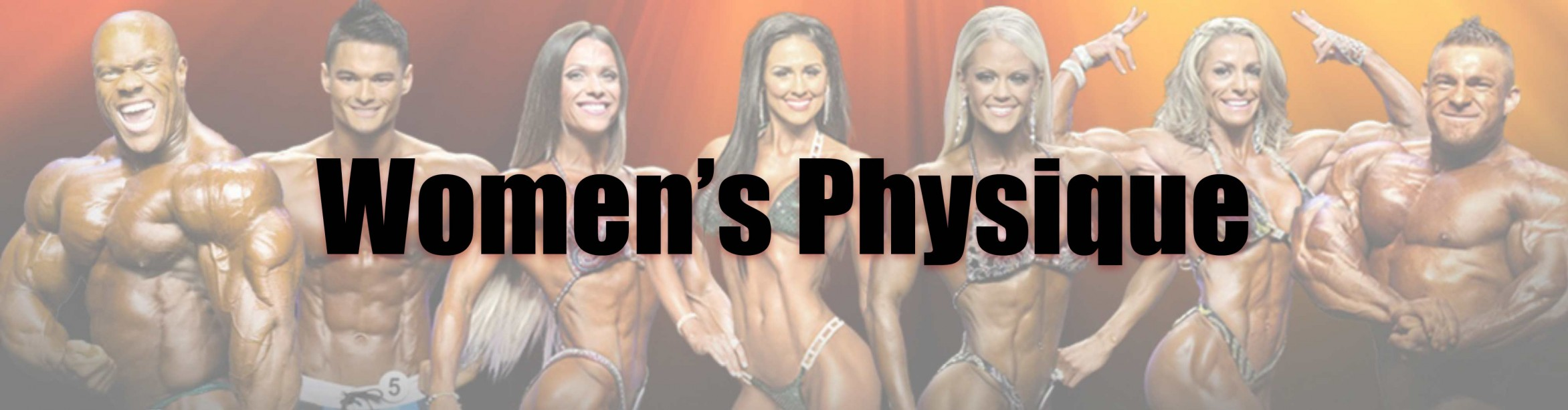 2015 Women's Physique Showdown Call Out Report
