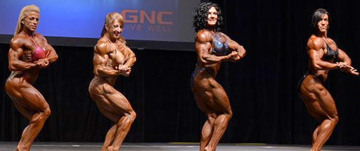 Toronto Pro Women Bodybuilding Prejudging Comparisons