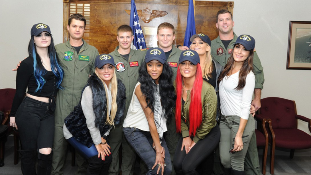 WWE® SUPERSTARS AND DIVAS PARTICIPATE IN 13th ANNUAL TRIBUTE TO THE TROOPS