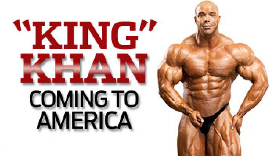 KHAN TO DEBUT AT 2011 FLEX PRO