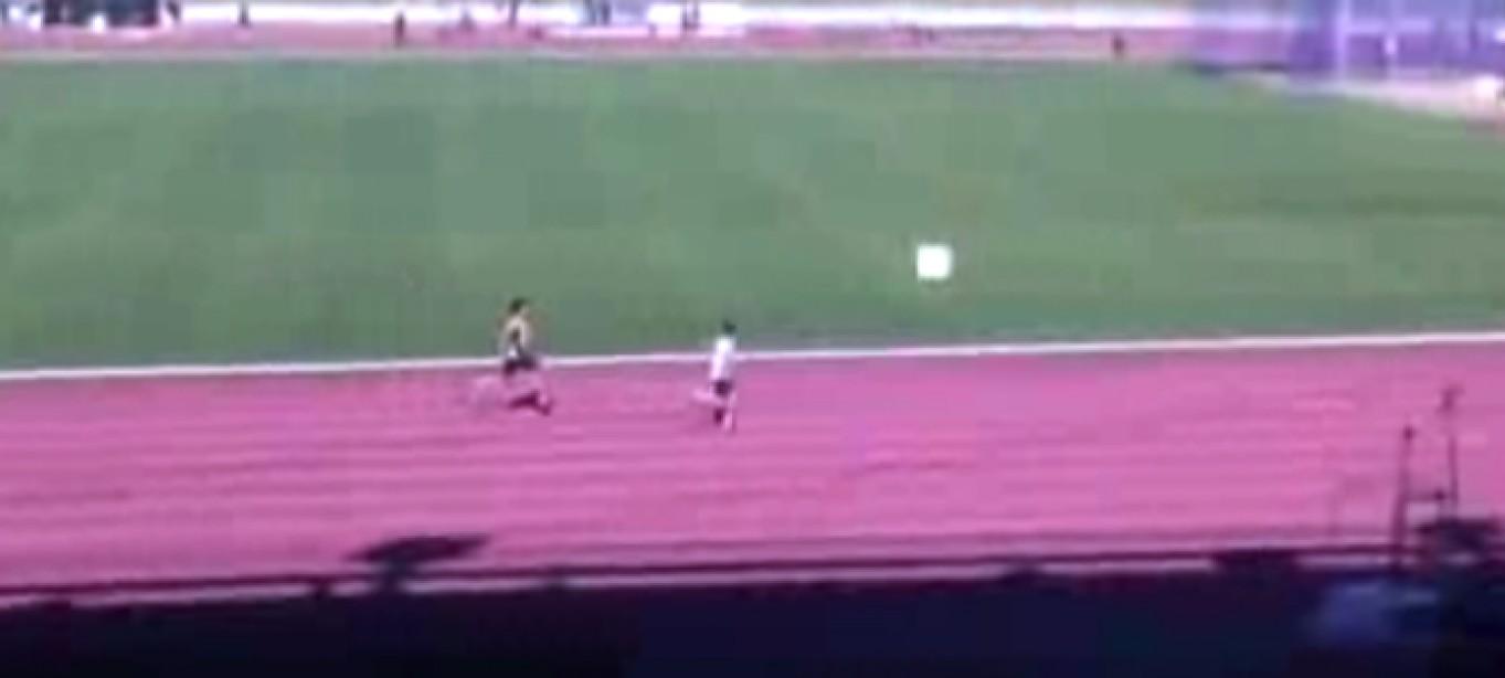 Check Out This 12-Year-Old Aussie Phenom Sprinter