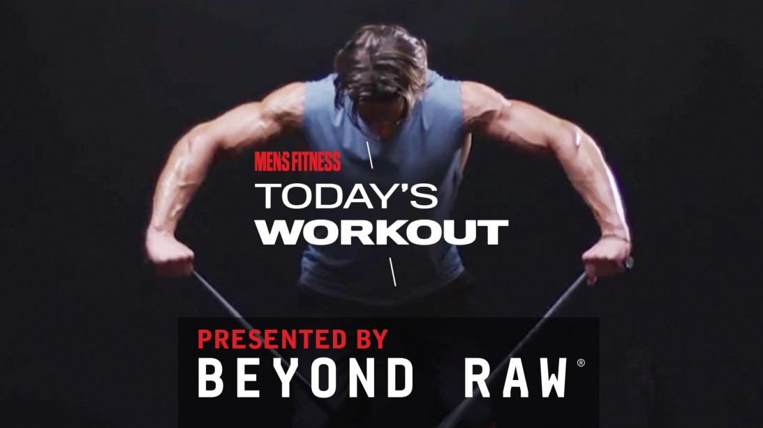 Today's Workout 32: The Band-Resistance Circuit To Build Muscle