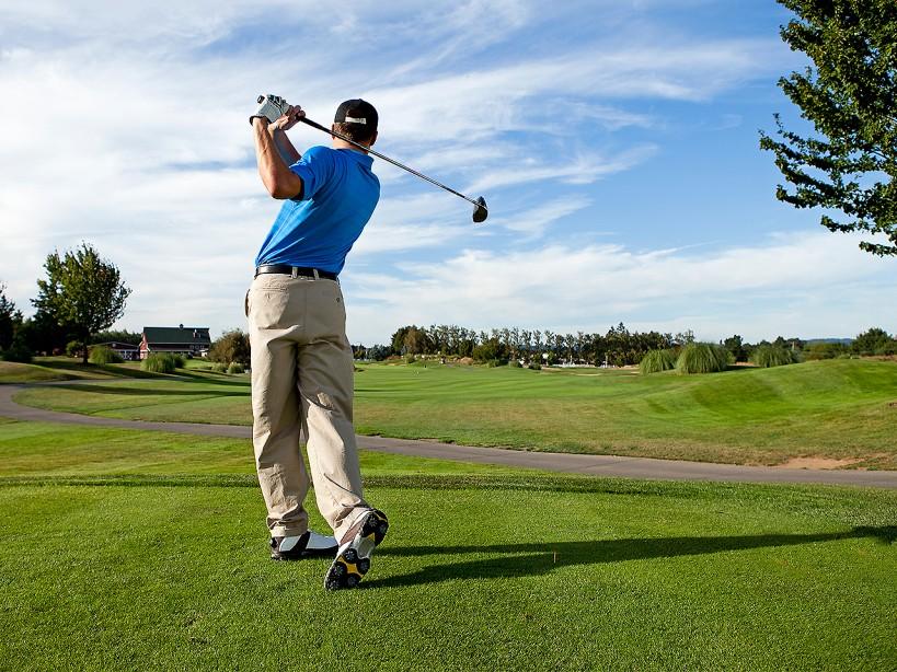 Tim Burke's Golf Workout Plan to Hit a 400-Yard Drive