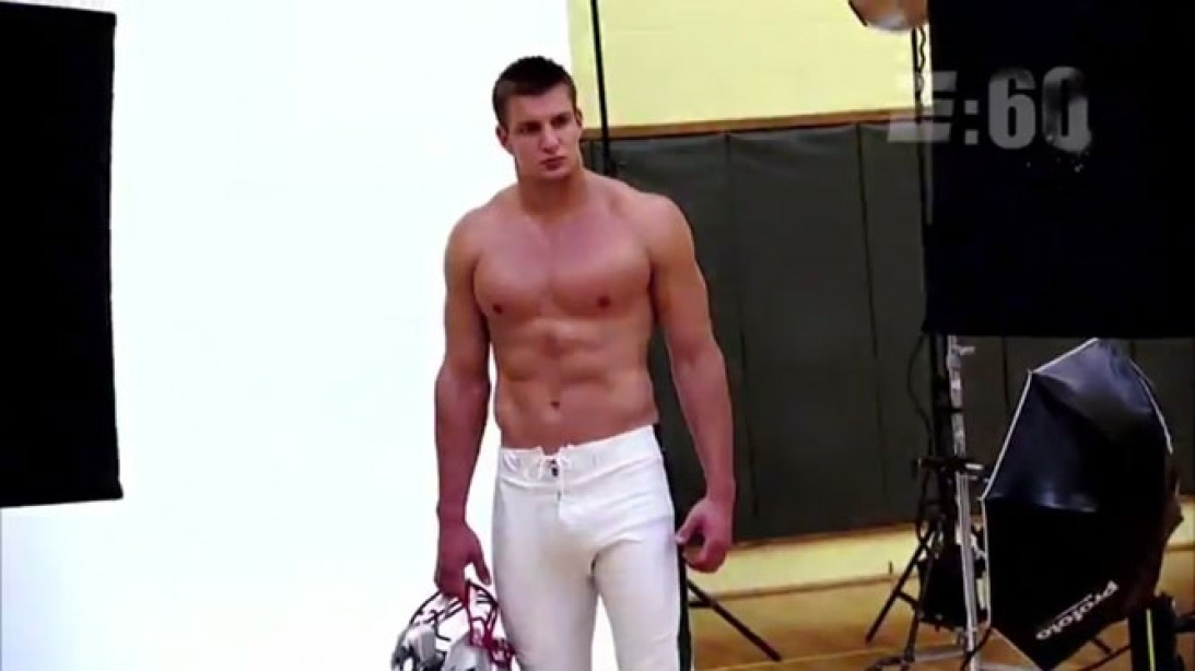 Rob Gronkowski's M&F Cover on ESPN 'E:60'