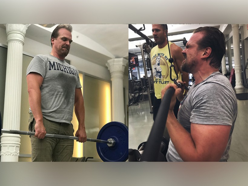 David Harbour's 'Hellboy' Workout Program Preview