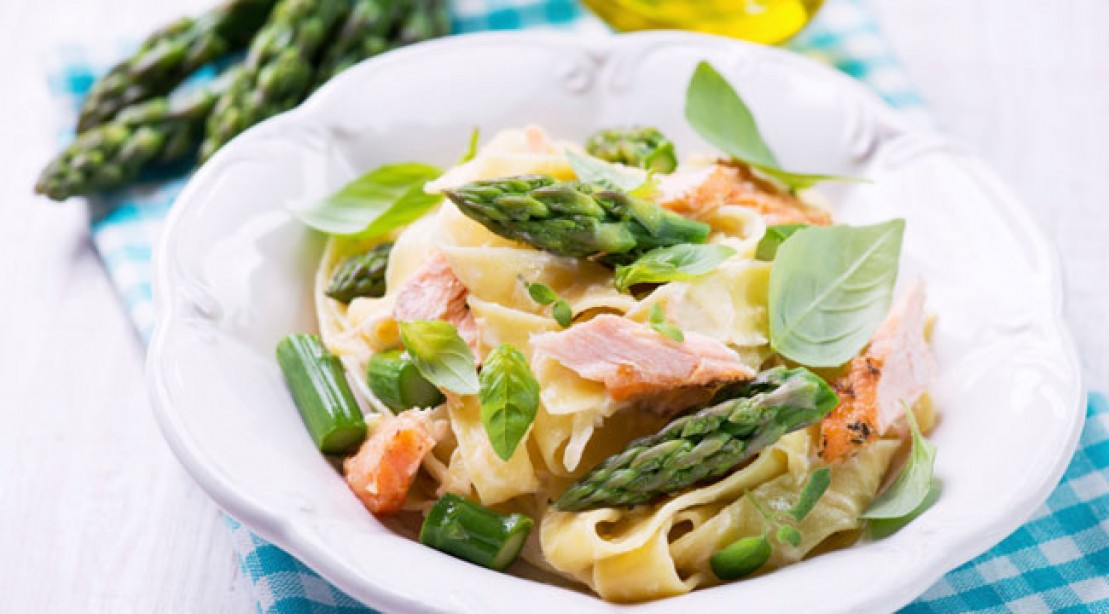 Healthy, low-fat pasta recipe