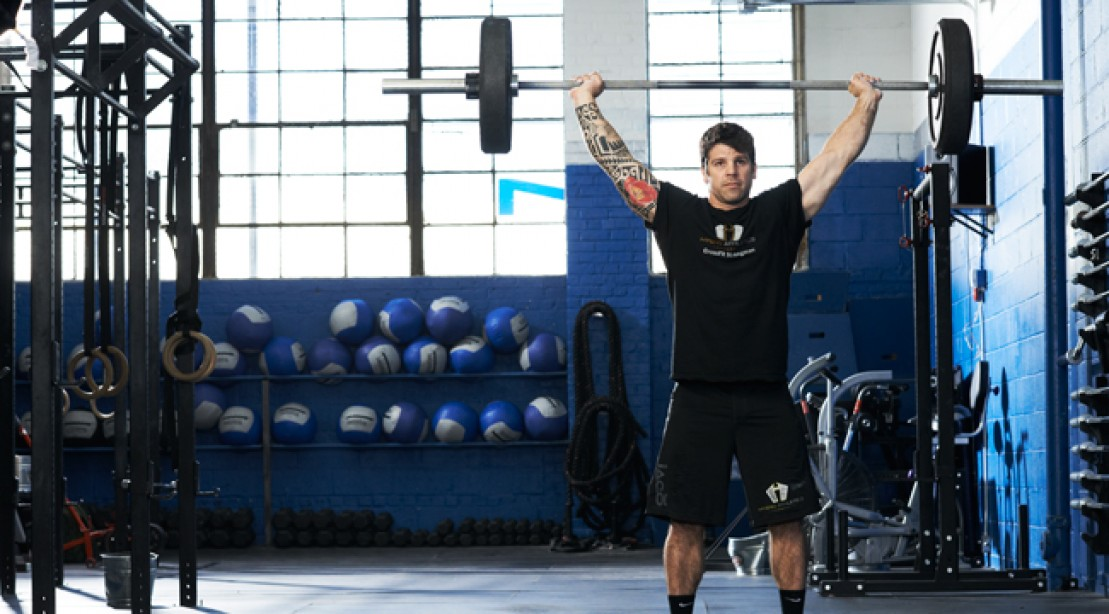 Muscle-up With This Brutal CrossFit Workout