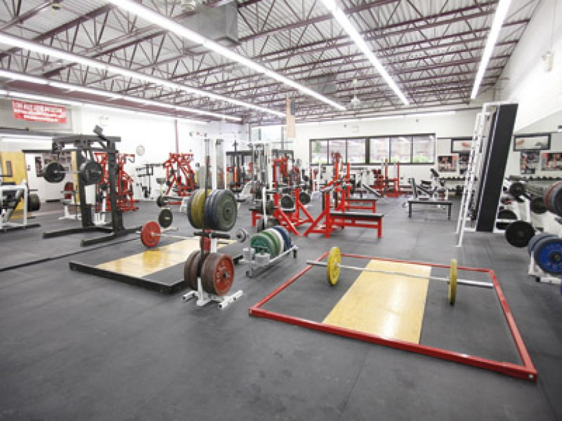 The World's Best Hardcore Gyms