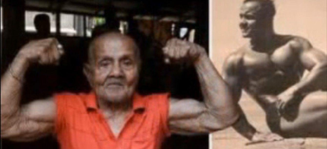 Former Mr. Universe Manohar Aich, 100, Still Going Strong