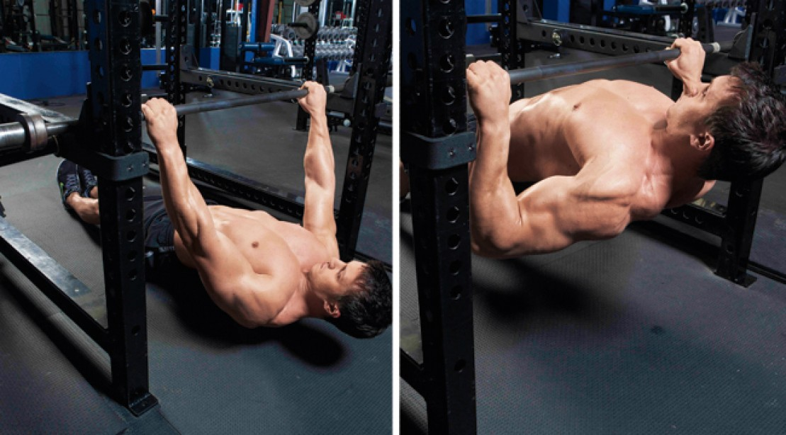 Blast Your Back with the Inverted Row