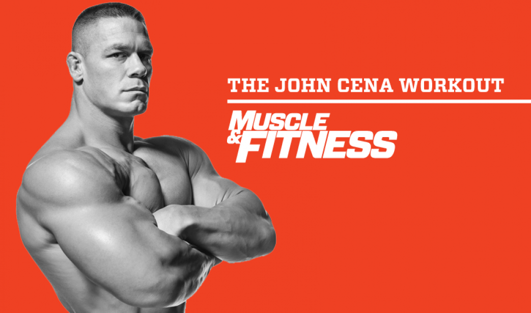 WWE Superstar John Cenas Full Body Workout Plan