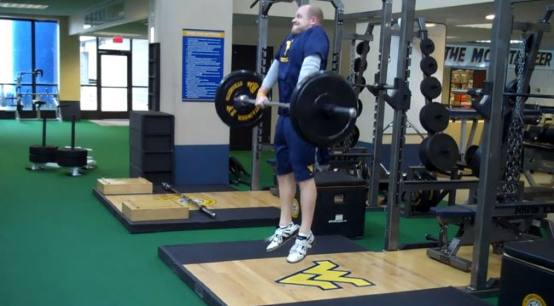 Get a Massive Upper Back With the Jump Shrug