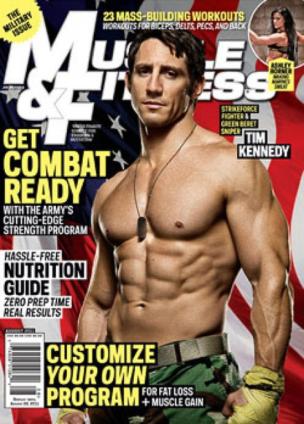 A Look Inside Muscle and Fitness' August Issue